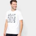 Camiseta Gonew Chuteiras Masculina – Masculino – Branco