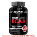 BCAA Wild 2500 Midway 100 Tabs – Unissex – Natural