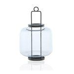 Lanterna  Coast Vidro 16X25CM Etna (Entregue por Submarino )