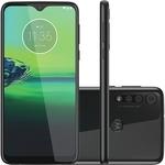 """Smartphone Moto G8 Play 32GB Dual Chip Android Tela 6.2"""" 4G Wi-Fi Câmera 13MP + 8MP + 2MP – Preto Ônix (Entregue por Americanas)"""