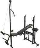 Academia Particular Polimet Torre e Crucifixo preto 0379 até 120 kg em oferta da loja Onofre Agora Eletro