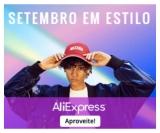 Setembro em Estilo: até 50% de desconto em moda feminina e masculina no AliExpress