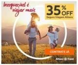 Seguro Viagem com 35% de desconto na Alianz Travel
