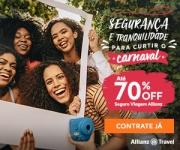 Carnaval: Seguro Viagem com até 70% de desconto na Allianz Travel