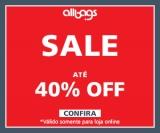 On Sale: até 40% de desconto em mochilas e malas na Allbags