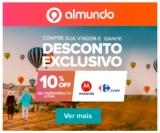 Ganhe 10% de desconto no Motorola One Action, comprando a viagem no Almundo
