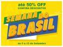 Semana do Brasil: até 50% de desconto na Beline