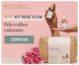 Novo Kit Rose Glow: pele e olhos radiantes na Biossance