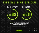 Especial Home Office: camisetas por R$ 89,00 e regatas por R$ 69,00 na Bulking