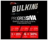 Promoção Progressiva: compre seis peças e ganhe 30% de desconto na Bulking