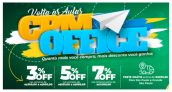 Volta às Aulas: Desconto Progressivo – 7% de desconto nas compras de papelaria acima de R$ 1.000,00 na CPM Office