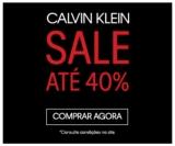 Sale: até 40% de desconto na Calvin Klein