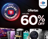 Super Semana do Consumidor: ofertas com até 60% de desconto no Carrefour