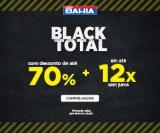 Black Total: até 70% de desconto + até 12X sem juros nas Casas Bahia