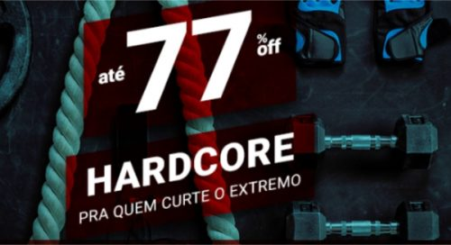 3e3197b3ad Hardcore (treino pesado e esportes radicais)  até 77% de desconto na  Centauro