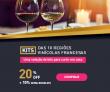 Seleção de Kits das 10 regiões vinícolas francesas: 20% de desconto + 10% extra no boleto na Chez France