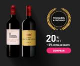 Vinhos Premiados e Pontuados com 20% de desconto + 5% de desconto extra na Chez France
