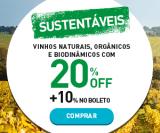 Vinhos Sustentáveis – Orgânicos, Biodinâmicos e Naturais com 20% de desconto + 10% extra com boleto na Chez France