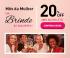 Mês da Mulher: Seleção Especial com 20% de desconto + 10% de desconto extra no boleto na Chez France