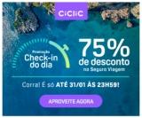 Promoção Check-in do Dia: 75% de desconto no Seguro Viagem na Ciclic