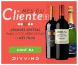 Mês do Cliente: 35% de desconto em produtos selecionados no Divvino