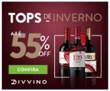 Tops de Inverno: até 55% de desconto em vinhos no Divvino