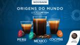 Lançamento: Origens do Mundo (Colômbia, Peru e México) Edição Limitada na Dolce Gusto