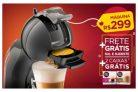 Compre máquina de café MiniMe automática, ganhe duas caixas de bebidas + Frete Grátis Sul e Sudeste na Dolce Gusto