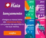 Lançamento: Nova Linha de Vitaminas Raia na DrogaRaia