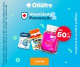 Reforce a sua imunidade: vitaminas com até 50% de desconto na Drogaria Onofre
