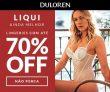 Liqui: lingeries com até 70% de desconto na DuLoren