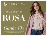 Outubro Rosa: 10% de desconto em peças selecionadas e Frete Grátis Brasil* na Dudalina