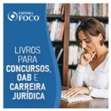 Livros Jurídicos, materiais concursos públicos e da OAB e Pós-Graduação em Direito na Editora Foco