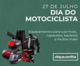 Dia do Motociclista: equipamentos, capacetes, roupas e muito mais na Estrela 10