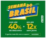 Semana do Brasil com até 40% de desconto + mais 6% extra e em até 12X sem juros na Estrela 10