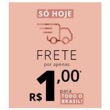 Só hoje: Frete Promocional Brasil por apenas R$ 1,00 na Eudora