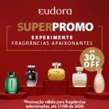 Super Promo: Fragrâncias Apaixonantes com até 30% de desconto na Eudora