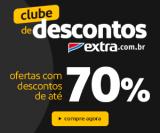 Clube de Descontos: com até 70% de desconto no Extra