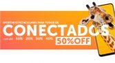 Ofertas espetaculares para os conectados: até 50% de desconto no Girafa