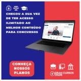 Assinatura para 18.600 cursos online para concursos a partir de R$ 79,90 no Gran Cursos Online