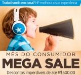 Mês do Consumidor: Mega Sale com descontos incríveis de até R$ 500,00 na HP