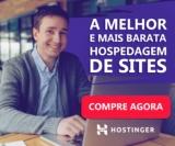 Hospedagem de sites com 90% de desconto (a partir de R$ 2,29 por mês) na Hostinger