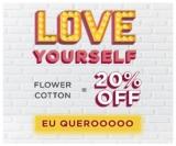 Love Yourself: 20% de desconto na Coleção Flower Cotton na Jogê