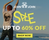 Sale: até 60% de desconto na John John