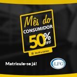 Mês do Consumidor: 50% de desconto no Exame da OAB e Preparatórios para Concursos Público na LFG