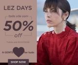 Lez Days: todo o site com 50% de desconto na Lez a Lez