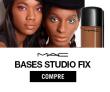 Pele Perfeita:  bases Studio Fix com até 50% de desconto na primeira compra + Frete Grátis acima de R$ 199,00 na MAC