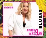 Liquida: blusas a partir de R$ 9,99 na Marisa