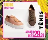 Liquida: tênis a partir de R$ 29,99 na Marisa