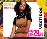 Liquida: vestidos a partir de R$ 29,99 na Marisa